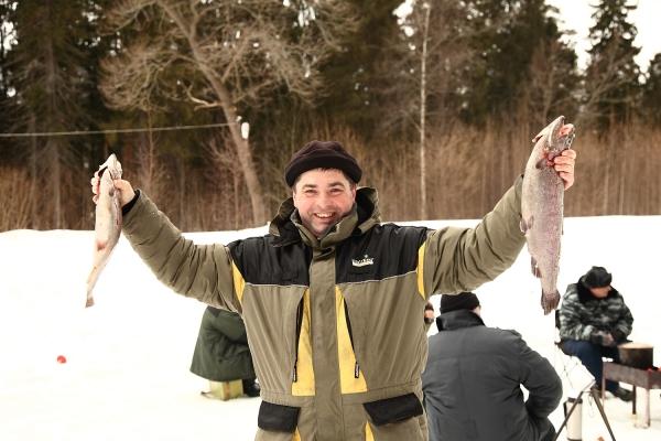 были на рыбалке на плещеевом озере