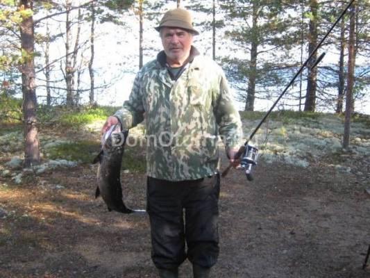 отчеты о рыбалке в карелии дикарями